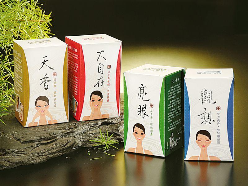 仁者壽 保健食品 系列 包裝盒 設計