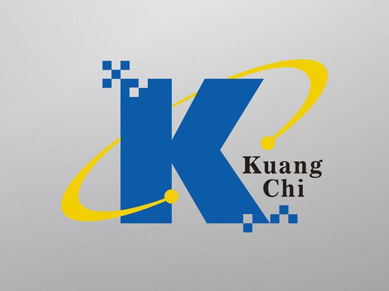 KUANG CHI 電子光學 產業 標誌設計