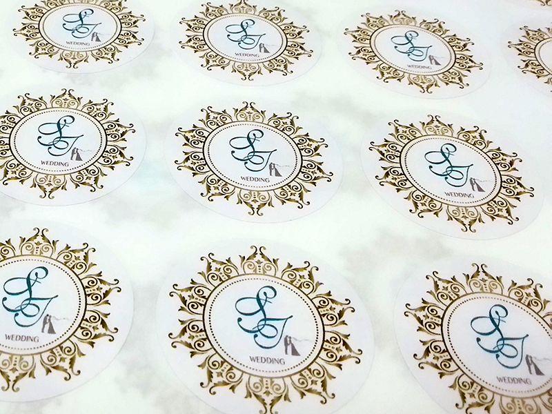 標籤貼紙   婚禮貼紙 +果醋瓶貼+車貼