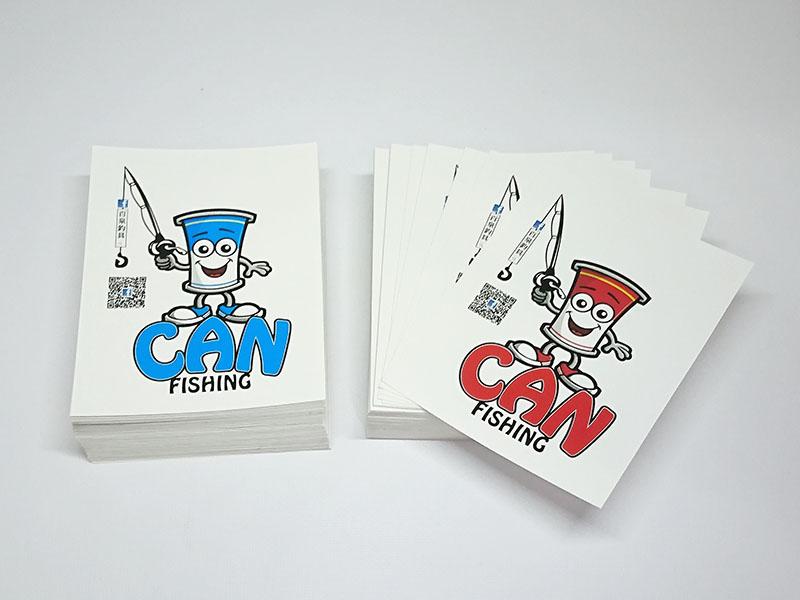 標籤貼紙   百泉釣具 - 廣告宣傳 造型貼紙