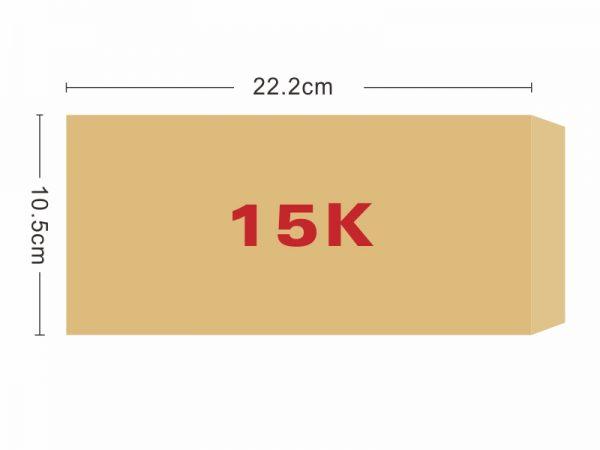★羅傑MORE★ 15K赤牛皮信封