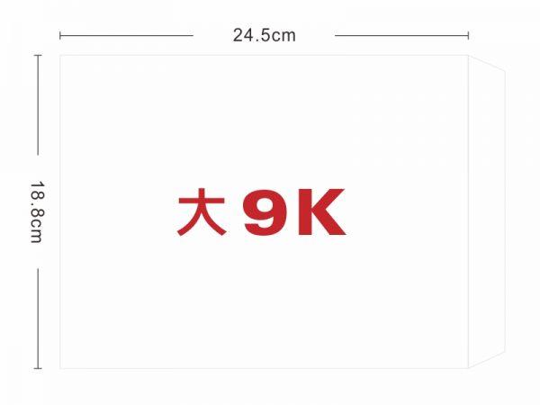 ★羅傑MORE★ 大9K白牛皮信封